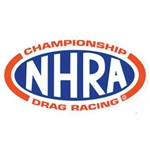 NHRA Oval Decal