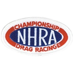 NHRA Oval Patch