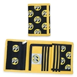 Moon Eyeball Logo Tri-Fold Wallet