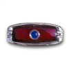 1941-48 Chevy Tail Light Lens with Blue Dot