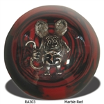 Rat Fink Shift Knob - Marble Red