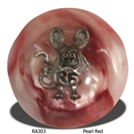 Rat Fink Shift Knob - Pearl Red