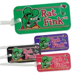 Rat Fink Luggage Tag Face