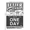 Letter Names & Numbers injust One Day Book