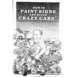How to Paint Signs & Build Crazy Cars Book