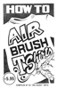How to Airbrush T-Shirts Book