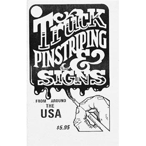 Truck Pinstriping and Signs Book