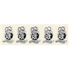 Rat Fink 5 B&W Small Sticker Strip