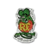 Rat Fink Crazy Metal Flake Decal