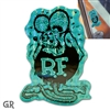 Rat Fink Prism Decal - Green