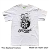 Rat Fink Black Design T-shirt - White