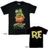 Rat Fink Standing T-shirt - Black