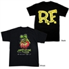 Rat Fink Standing Kids Tee in Black