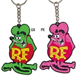 Rat Fink Rubber Key Ring