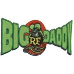 BIG DADDY Rat Fink Patch