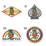 Rat Fink Patches