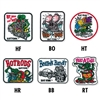 Rat Fink Embroidery Patches