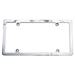 Chrome Plain License Frame