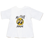 My First MOON Baby T-shirt - White