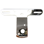 Motorcycle License/Tail Lamp Bracket - Chrome