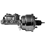 Chrome 7-inch Master Cylinder/Booster